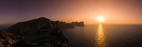 Sunset Formentor, Majorca Stock Photo