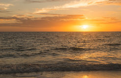 Sunset in fort myers Stock Photos