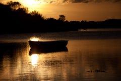 Sunset at Four Mile Bridge Royalty Free Stock Photography