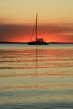 Sunset - Fraser Island, UNESCO, Australia Stock Photos