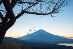 Sunset fujisan Royalty Free Stock Images