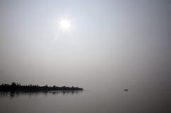 Sunset, Ganges delta Stock Photos