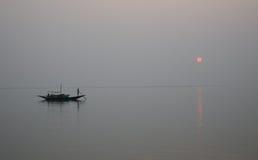 Sunset, Ganges delta Stock Images