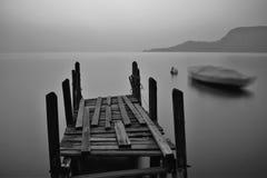 Sunset. In the Garda Lake royalty free stock image