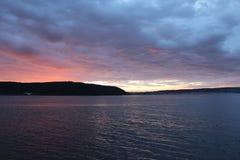 Sunset at Gelibolu. The Dardanelles sunset at Gelibolu Stock Photo