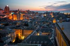 Sunset, Genoa Stock Photography