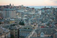Sunset, Genoa Stock Photos