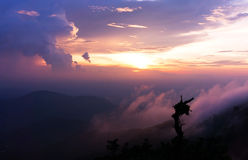 Sunset of Genting Highland Stock Photography