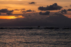 Sunset in Gili Meno island Royalty Free Stock Image