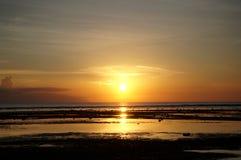 Sunset in Gili Trawangan Stock Photo