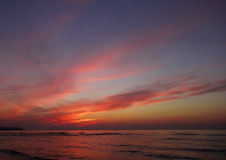 Sunset glow Royalty Free Stock Photography