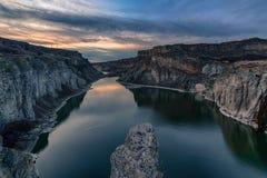 Snake river canyon Royalty Free Stock Image