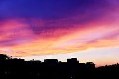 Sunset glow Royalty Free Stock Image