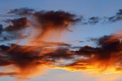 Sunset Glow Stock Photography