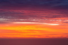 Sunset glow sky. Sunset glow background , summer dusk sky Royalty Free Stock Photos