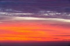 Sunset glow sky. Sunset glow background , summer dusk sky Stock Images