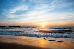 Sunset in Goa Stock Image