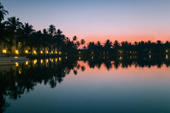 Sunset goa Royalty Free Stock Photography