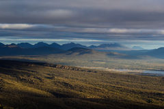 Sunset in the Grampians Stock Image