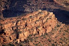Almost sunset at Grand Canyon Royalty Free Stock Images
