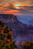 Sunset Grand Canyon Arizona Royalty Free Stock Photo