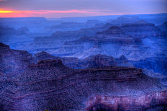 Sunset Grand Canyon Arizona Royalty Free Stock Photos