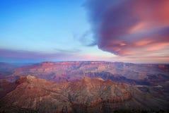 Sunset Grand Canyon AZ, USA Royalty Free Stock Images