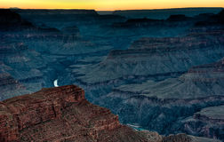Sunset in Grand Canyon National Stock Photo