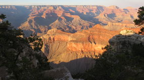 Sunset Grand Canyon Royalty Free Stock Photos