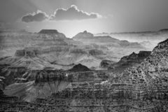 Sunset at the Grand Canyon seen from Desert View Point, South Ri. Sunrise at Grand Canyon seen from Mathers Point, South rim royalty free stock image