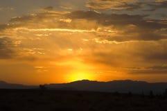 Sunset in Grand Teton National Park Royalty Free Stock Photos