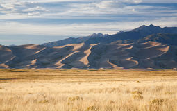 Sunset On Great Sand Dunes National Park Royalty Free Stock Images