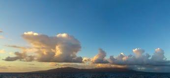 Sunset, Guadeloupe. Royalty Free Stock Image