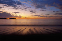 Sunset in Guanacaste Stock Image