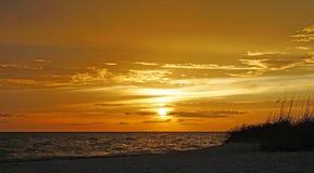 Sunset on the Gulf Stock Photos