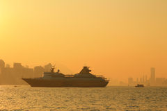 Sunset of habour Royalty Free Stock Photos