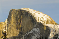 Sunset on Half Dome Royalty Free Stock Images