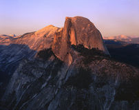 Sunset At Half Dome Stock Photo