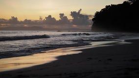 Sunset in Havelock island. Andaman islands, India stock footage