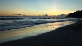 Sunset in Havelock island. Andaman islands, India stock video