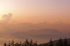 Sunset haze Stock Photography