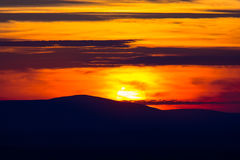 Sunset_Hill royalty-vrije stock afbeeldingen