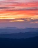 Sunset hills 3 Stock Photo