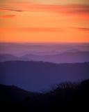 Sunset hills 1 Royalty Free Stock Image