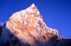 Lhotse Sunset Stock Photos
