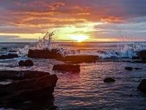 sunset hiszpanii Zdjęcia Royalty Free