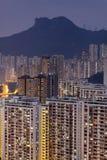 Sunset hongkong city Royalty Free Stock Photography