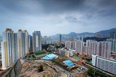 Sunset hongkong city Royalty Free Stock Photo