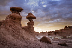 Sunset Hoodoos Royalty Free Stock Photo