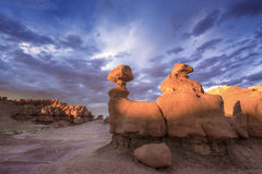 Sunset Hoodoos Royalty Free Stock Images